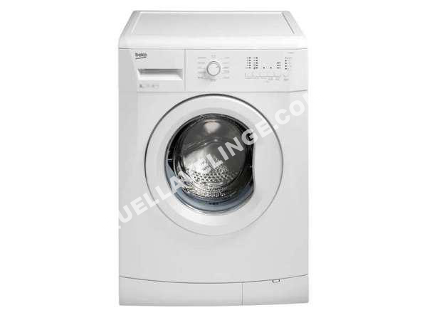 lave linge beko lave linge ouverture hublot llf08w1 au meilleur prix. Black Bedroom Furniture Sets. Home Design Ideas