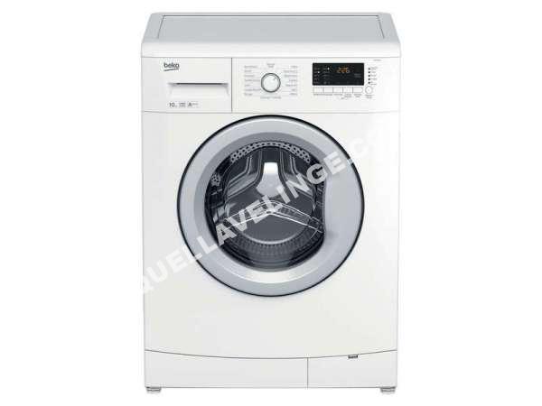 lave linge beko lave linge hublot 10kg llf10w1 au meilleur prix !