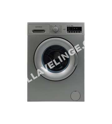 lave linge daewoo lave linge hublot dwd mv1227 silver au meilleur prix. Black Bedroom Furniture Sets. Home Design Ideas