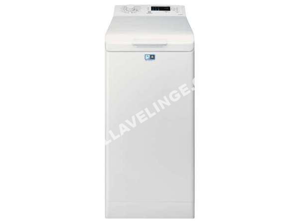 lave linge electrolux lave linge ouverture dessus 6kg ewt1264ss1 au meilleur p. Black Bedroom Furniture Sets. Home Design Ideas