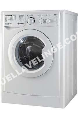 lave linge indesit lave linge hublot ewc 61252 w fr m au meilleur prix. Black Bedroom Furniture Sets. Home Design Ideas