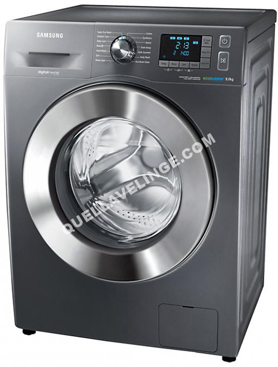 lave linge samsung eco bubble pg wf80f5e5u ll au meilleur prix. Black Bedroom Furniture Sets. Home Design Ideas