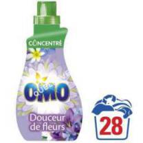consommables  OMO Petit et Puissant Jasmin 28 Lavages 1l