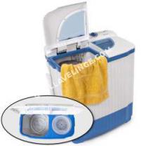 lave-linge-compact  TecTake Mini-machine à laver 4,5kg et essorer 3,5kg - Idéal camping et petites pièces