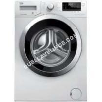 nouveautes  Lave-linge WTV8734XC0 - Machine à laver - pose libre - largeur : 60 cm - profondeur : 54 cm - hauteur : 84 cm - chargement frontal - 8 kg - 1400