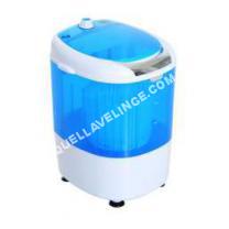 lave-linge-compact  Mini machine à laver 170 W fotions lavage essorage avec minuterie bleu et bla neuf 04BU