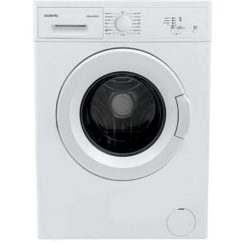 Lave linge hublot  OCEALL510DDW - Machine à laver - pose libre - largeur : 59.7 cm - profondeur : 49.7 cm - hauteur : 84.5 cm - chargement frontal - 42 litres - 5 kg - 1000 tours/min - bla