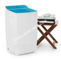 lave-linge-compact  one Coept Ecowash Deluxe Machine à laver 290W 4kg Minuteur Fotion essorage bleu one Coept