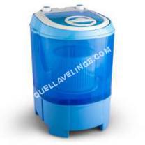 lave-linge-compact Sg003 Machine à laver fotion essorage 2,8kg 180W Ipx4