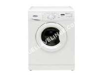 Lave linge hublot  AWO/D 7452 - Machine à laver - pose libre - largeur : 59.5 cm - profondeur : 56.5 cm - hauteur : 84.5 cm - chargement frontal - 54 litres - 7 kg - 1400 tours/min